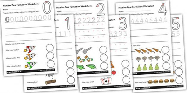 1000+ images about Numeral Formation Activities on
