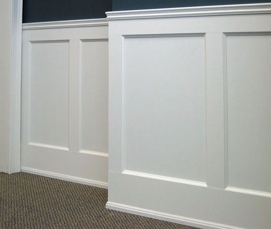 Shaker Wainscoting Diy  WoodWorking Projects  Plans