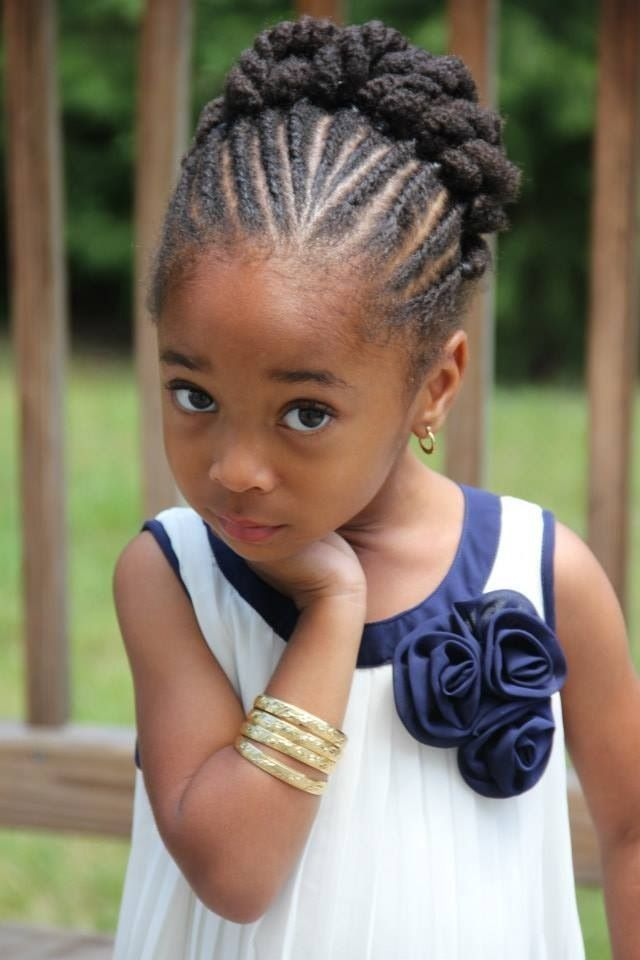 148 Best Images About Natural Kids Updos On Pinterest Flat