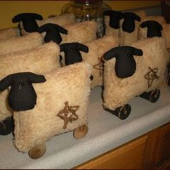 Christmas Chair Covers Ireland Ikea Rocking Chairs 25+ Best Ideas About Primitive Sheep On Pinterest   Easy Crafts, Country ...