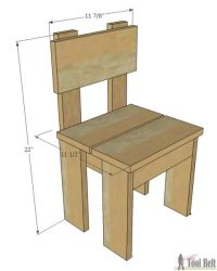 17 Best ideas about Kid Chair on Pinterest | Wood projects ...