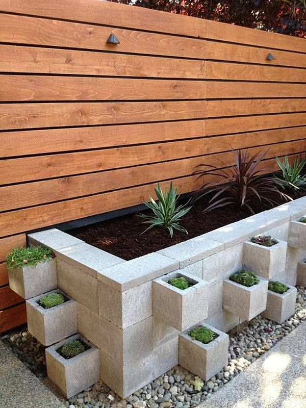 25 Best Ideas About Concrete Block Retaining Wall On Pinterest