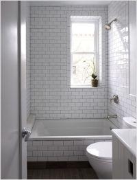 Bathroom Contemporary New York bathroom window dark floor ...