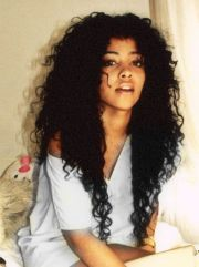 natural curly hair- short layers
