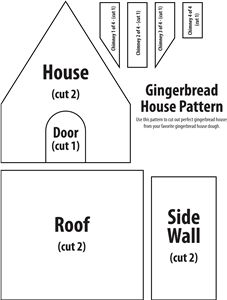 25 Best Ideas About Gingerbread House Patterns On Pinterest