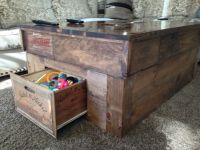 61 best images about Wine Crate Tables on Pinterest ...