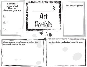 12 best images about Art-portfolio on Pinterest