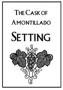 38 best images about the cask of amontillado on Pinterest