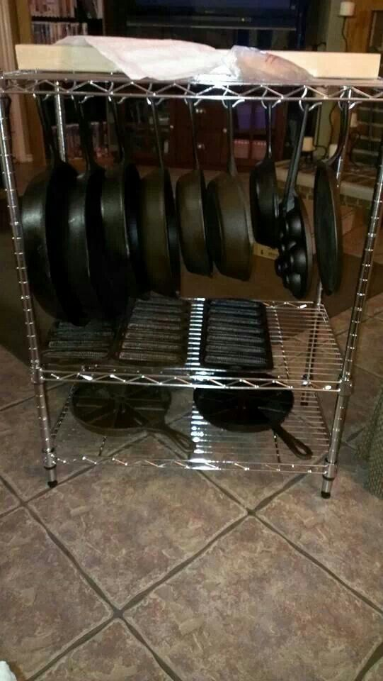 Cast Iron Storage Image Only  CookingKitchen Tips