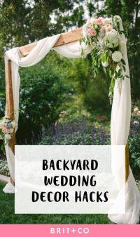 Best 25+ Backyard wedding decorations ideas on Pinterest ...
