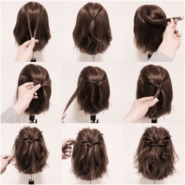 25 Best Ideas About Easy Short Hairstyles On Pinterest Simple