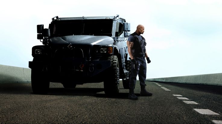 Dwayne Johnson Is Back In The Gurkha, The Armored Vehicle