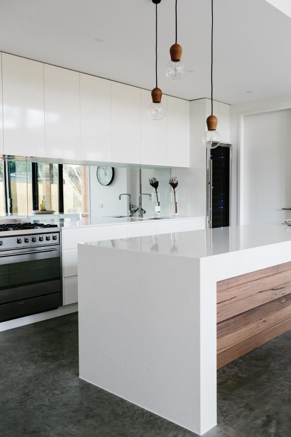 25 Best Ideas About White Wood Kitchens On Pinterest