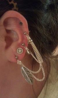 25+ best ideas about Triple piercing on Pinterest