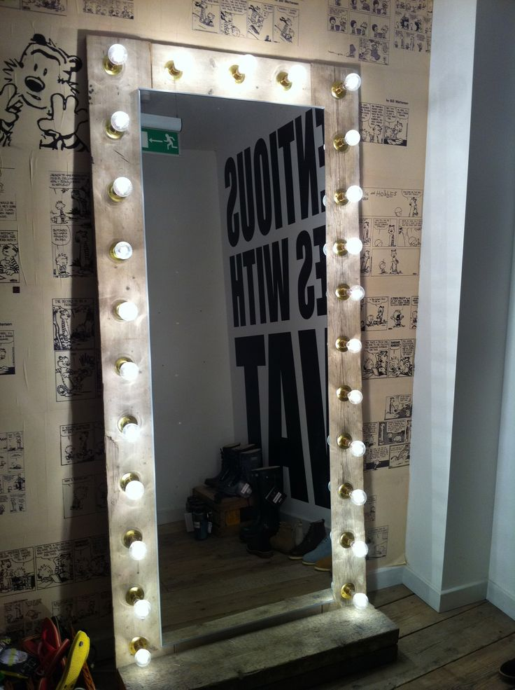 Mirror with lights, will be making one of these for my