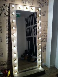 Mirror with lights, will be making one of these for my ...