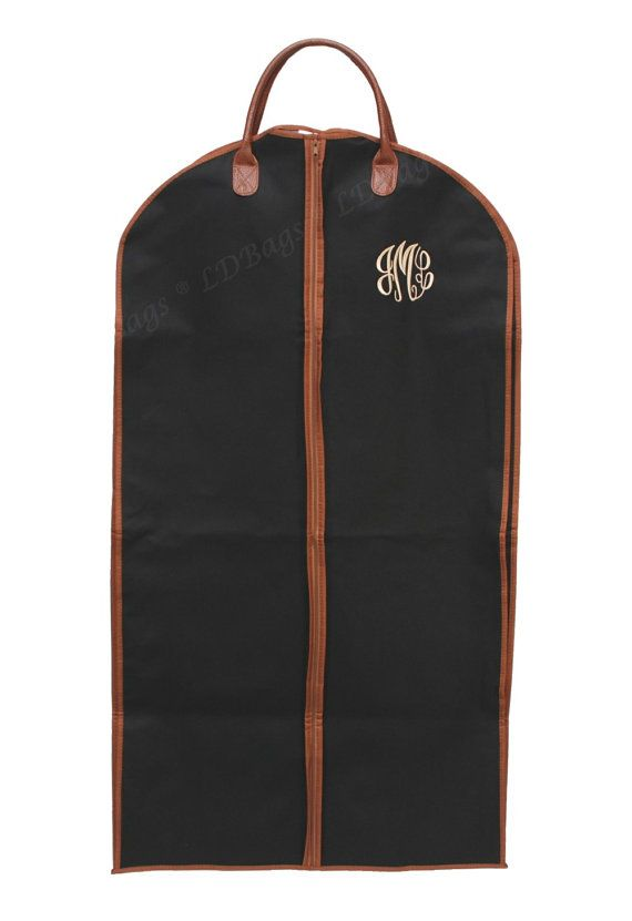 monogrammed garment bags for men