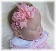 pink baby headband infant
