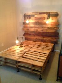1000+ images about Pallet Beds & Headboards on Pinterest