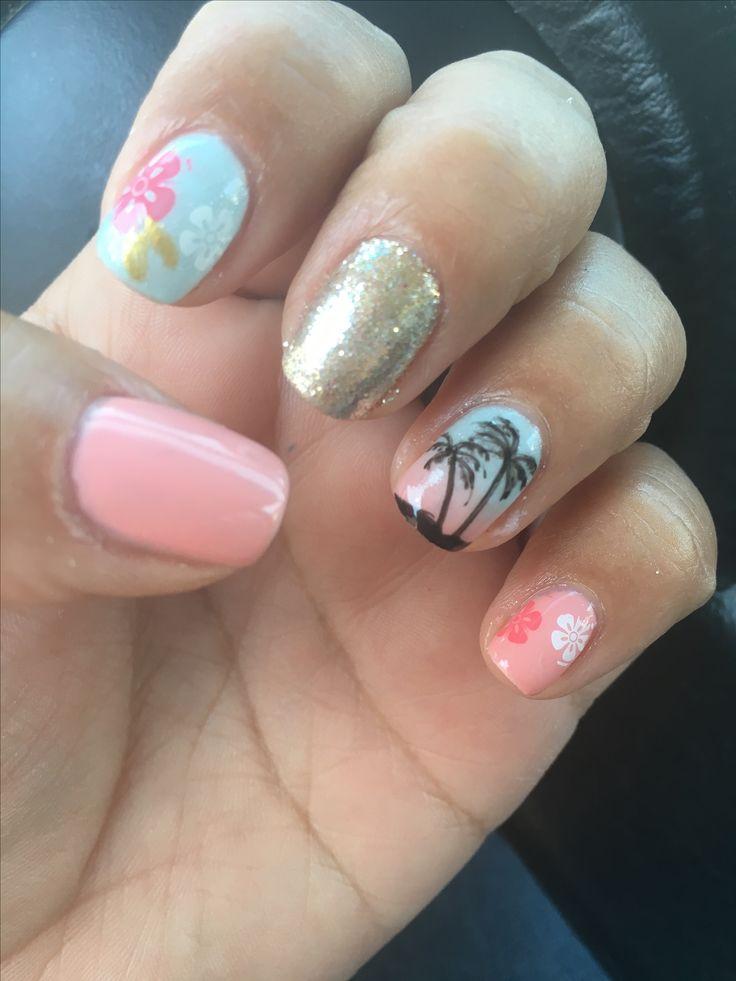 25+ best ideas about Hawaiian nails on Pinterest