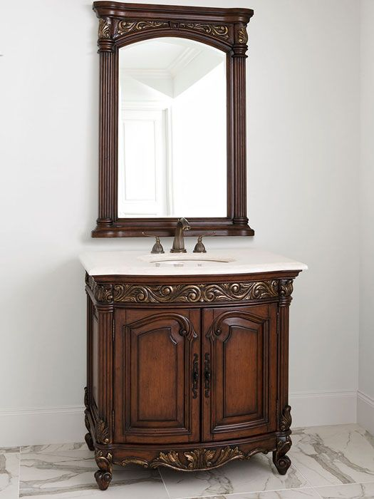 17 Best images about French Provincial Bathroom Vanities on Pinterest  Marble top Fossil and