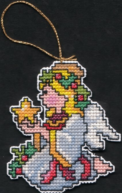 Angel Ornament Counted Cross Stitch My Needlework