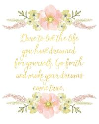 17 Best images about Floral Quote Prints on Pinterest ...