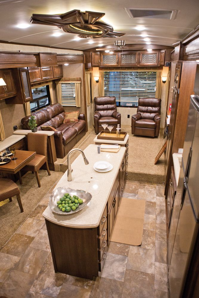 RV Decor  stunning interior design was among the new HR Presidentials most   williams