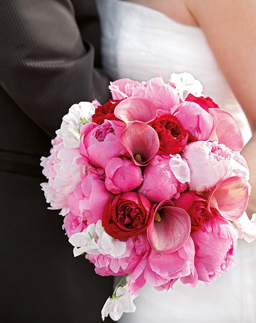 17 Best images about wedding flowers on Pinterest  Bride bouquets Hot pink and Tipi wedding