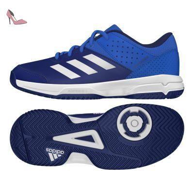 adidas court stabil jr chaussures de handball mixte enfant differents coloris multicolore