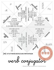 21 best Verb Conjugation Activities images on Pinterest