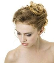 french twist simple updos