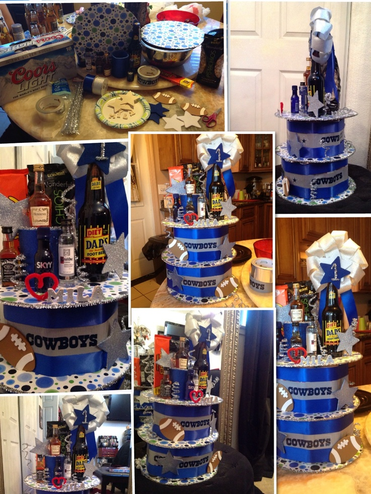 Beer Cake Tower For Father's Day DIY Pinterest