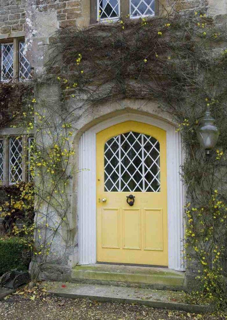 Yellow House Front Door Color