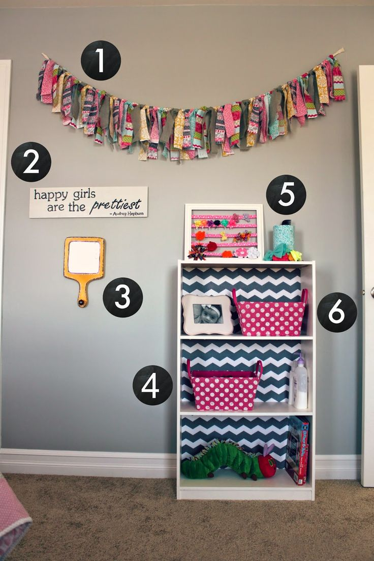 all things DIY room reveal  girls bedroom on a budget  all things DIY  Our projects