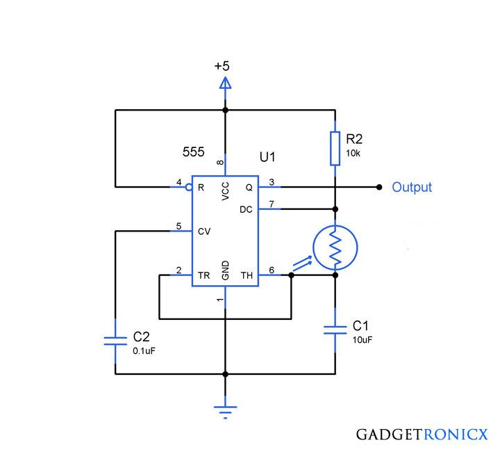 Light Dependent Resistor Circuit Diagram