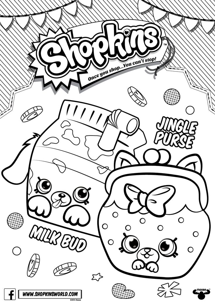 Best 25+ Shopkins coloring pages free printable ideas on