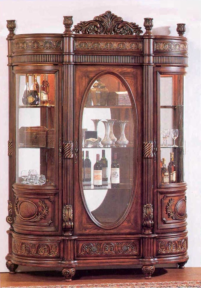Large Curio Display Cabinet  WoodWorking Projects  Plans