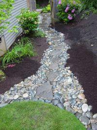25+ best ideas about Rock Walkway on Pinterest | Rock path ...