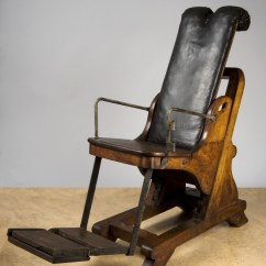 Antique Dentist Chairs Reclining Chair Theaters San Jose Adjustable Dental Chair, England, 1701-1800 -- Www.seasonalhealth.com | History Of Medicine ...