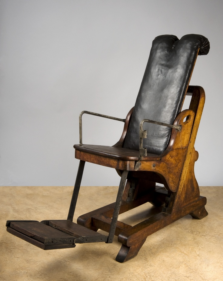 antique dentist chairs childrens wood table and adjustable dental chair, england, 1701-1800 -- www.seasonalhealth.com | history of medicine ...