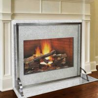 1000+ ideas about Fireplace Screens on Pinterest | Glass ...