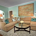 Living rooms tans teal living room living room tan couch teal and