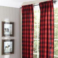 25+ Best Ideas about Plaid Curtains on Pinterest   Plaid ...