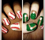 1000 ideas baseball nail