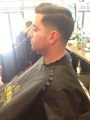 traditional tapered men's haircut