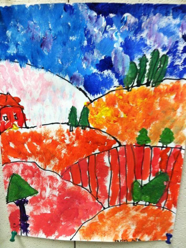 25 Landscape Dot Paintings Pictures And Ideas On Pro Landscape