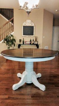 25+ best ideas about Painted Oak Table on Pinterest ...