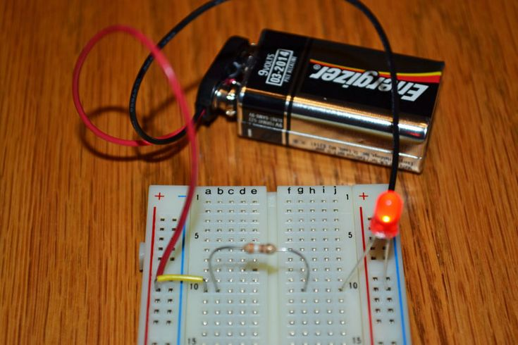Easy LED Circuit. Make A Simple Circuit That Makes A LED