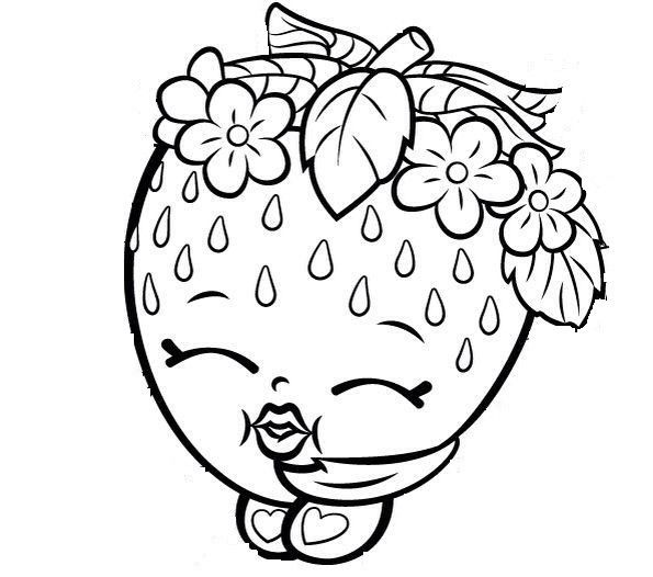 Perfume Shopkins Season 4 Coloring Pages Printable